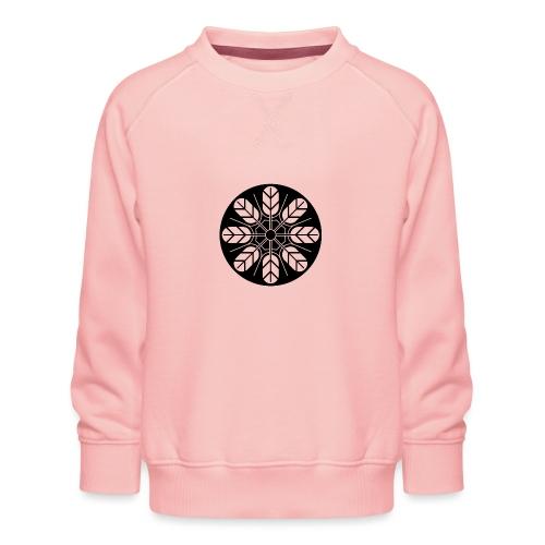 Inoue clan kamon in black - Kids' Premium Sweatshirt