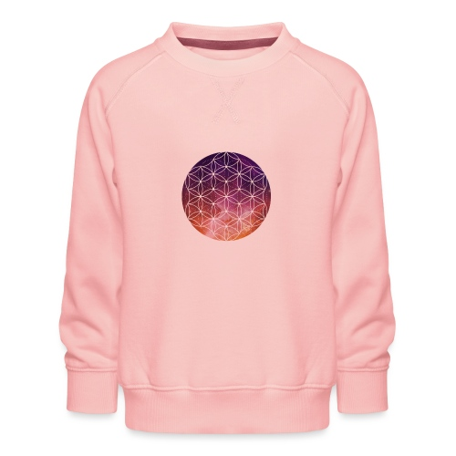 FlowerOfLife Warm - Kinderen premium sweater