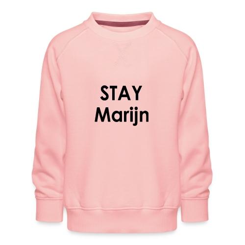 stay marijn black - Kinderen premium sweater