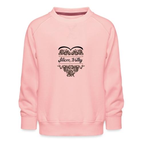 SiliconValley_Black - Kinderen premium sweater