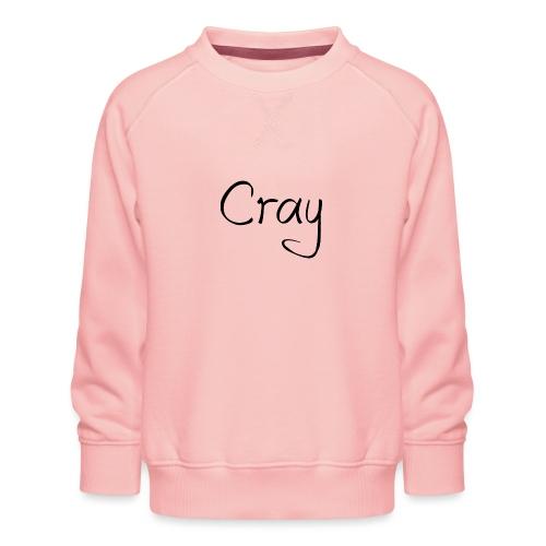 Cray Black Schrifft - Kinder Premium Pullover