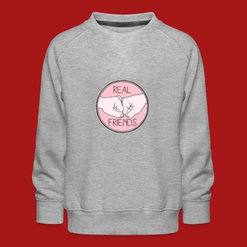 Real Friends - Børne premium sweatshirt