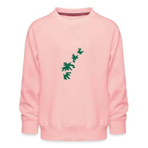 Green Leaves - Kinder Premium Pullover