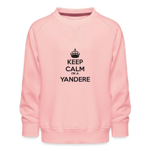 Yandere keep calm - Kids' Premium Sweatshirt