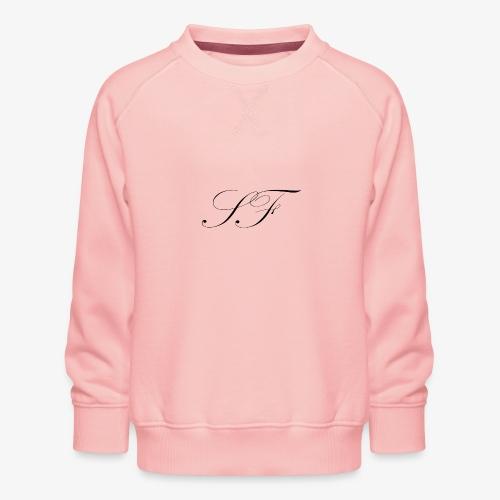 SF HANDWRITTEN LOGO BLACK - Kids' Premium Sweatshirt