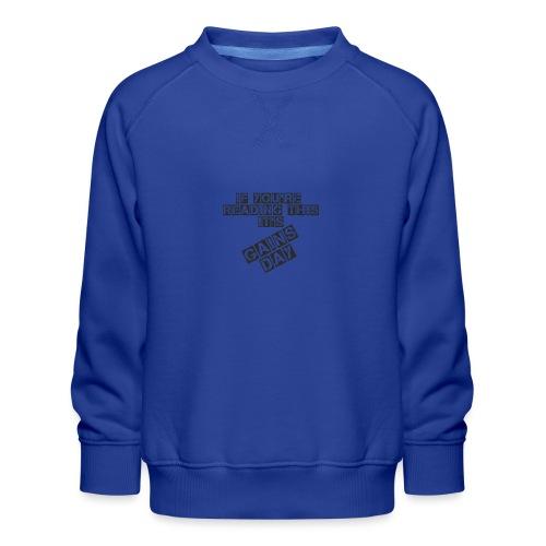 gainsday - Børne premium sweatshirt