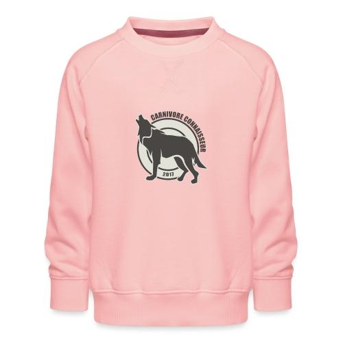 Fleischfresser - Grillshirt - Der mit dem Wolf heu - Kinder Premium Pullover