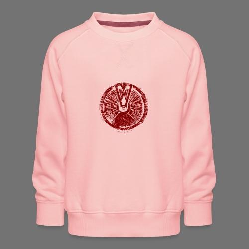 Maschinentelegraph (rød oldstyle) - Børne premium sweatshirt