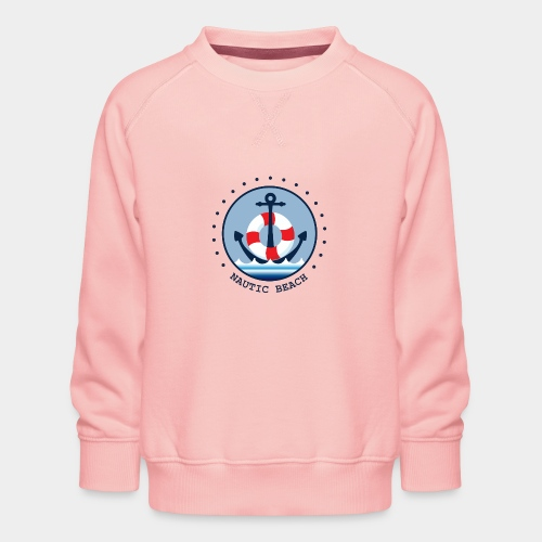 NAUTIC BEACH - Kinder Premium Pullover