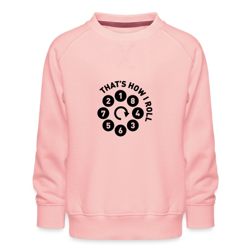 Rolling the V8 way - Autonaut.com - Kids' Premium Sweatshirt