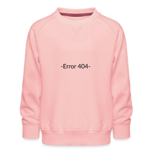 Error 404 T-shirt - Sudadera premium para niños y niñas