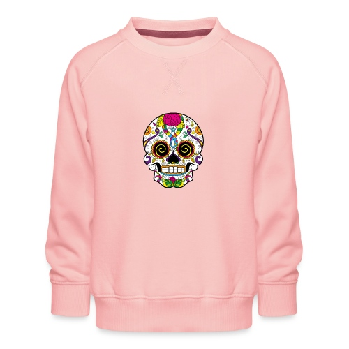 skull3 - Felpa premium da bambini