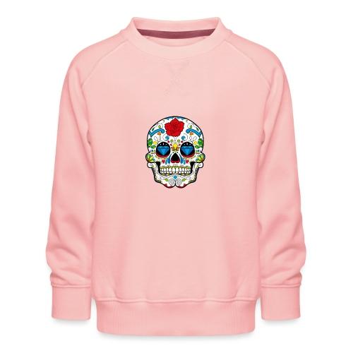 skull2 - Felpa premium da bambini