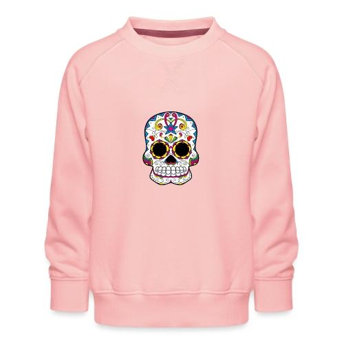skull7 - Felpa premium da bambini