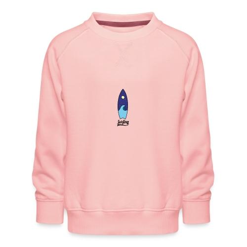 Surfboard - Kinderen premium sweater