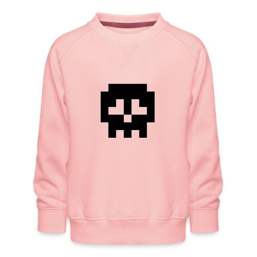 Retro Gaming Skull - Kids' Premium Sweatshirt