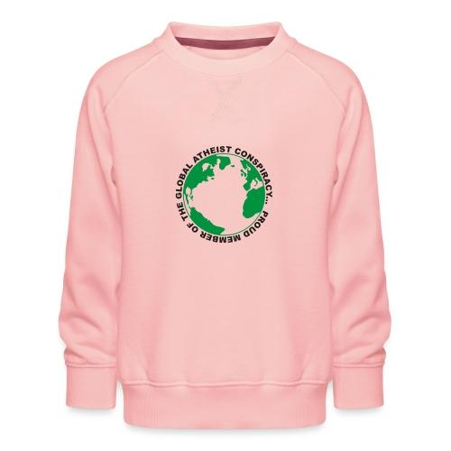 Global Atheist Conspiracy - Kids' Premium Sweatshirt
