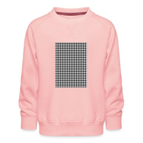 pied de poule v12 final01 - Kinderen premium sweater