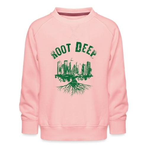 Root deep Urban grün - Kinder Premium Pullover