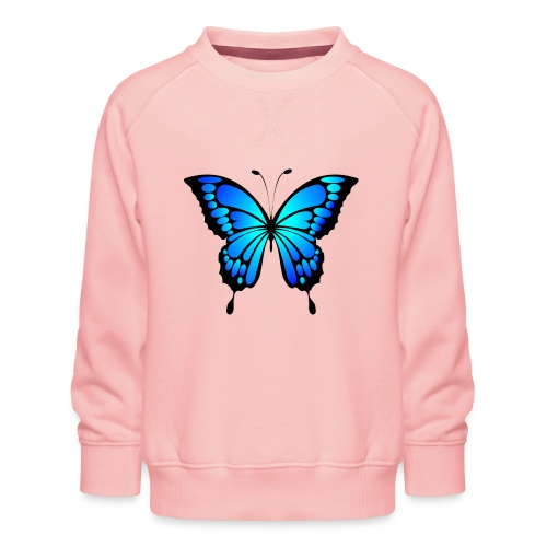 Mariposa - Sudadera premium para niños y niñas