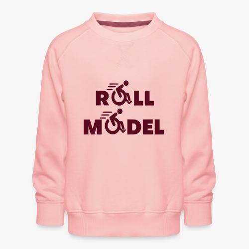 Elke rolstoel gebruiker is een roll model - Kinderen premium sweater
