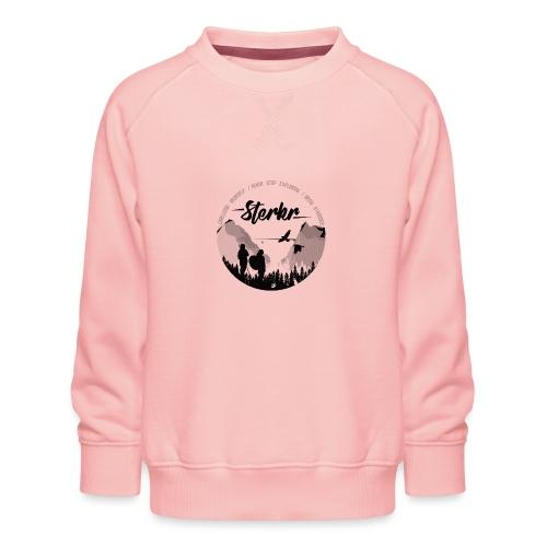 STERKR - Fjordview - Kids' Premium Sweatshirt