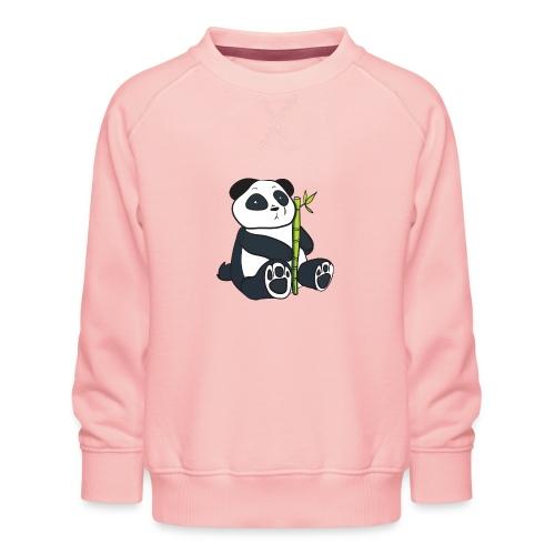 Oso Panda con Bamboo - Sudadera premium para niños y niñas