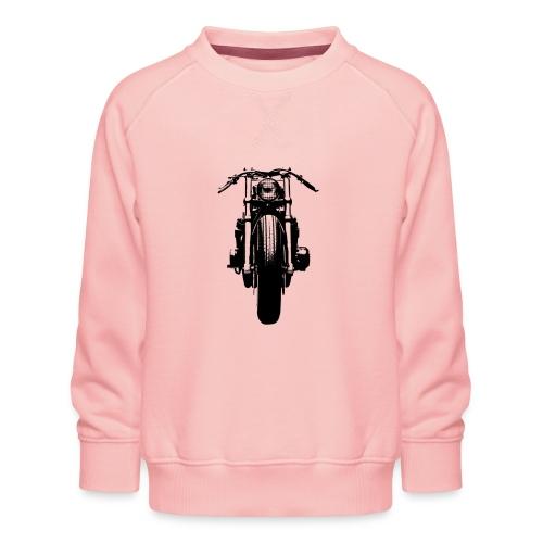 Motorcycle Front - Kids' Premium Sweatshirt