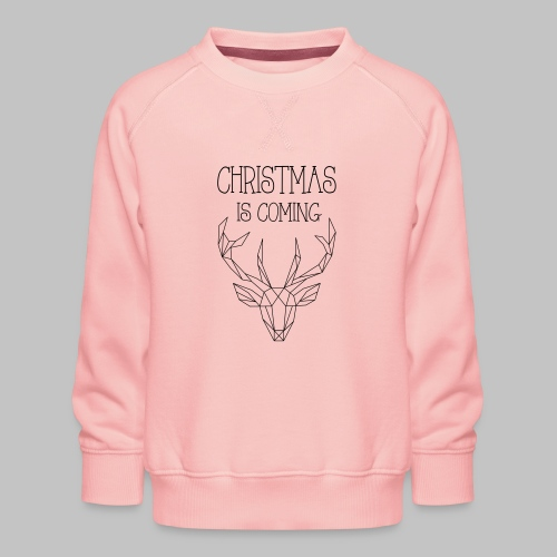 Deer Christmas - Kids' Premium Sweatshirt
