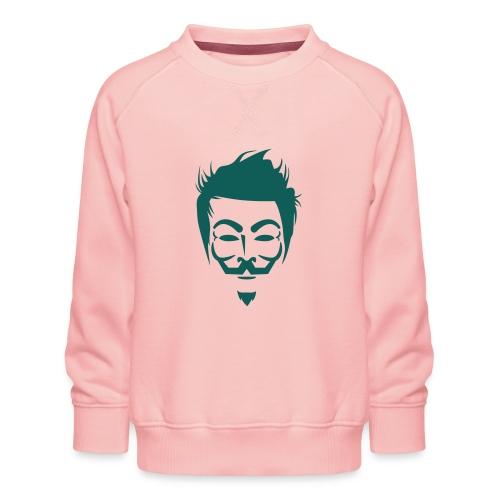 Anonymous Hipster - Sweat ras-du-cou Premium Enfant