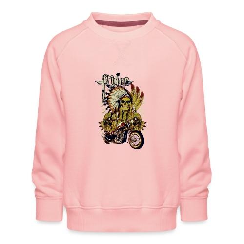 Skull Rider - Sudadera premium para niños y niñas
