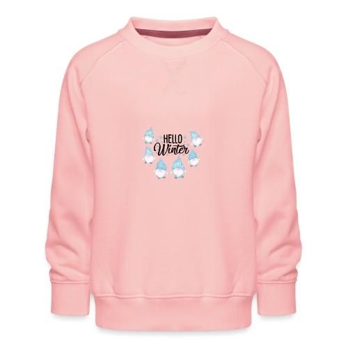 Hello Winter Gnomen - Kinder Premium Pullover