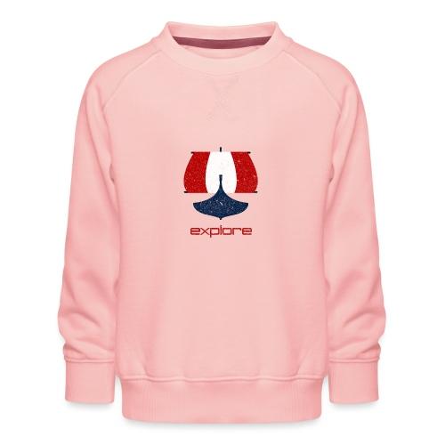 VHEH - Explore ship - Kids' Premium Sweatshirt