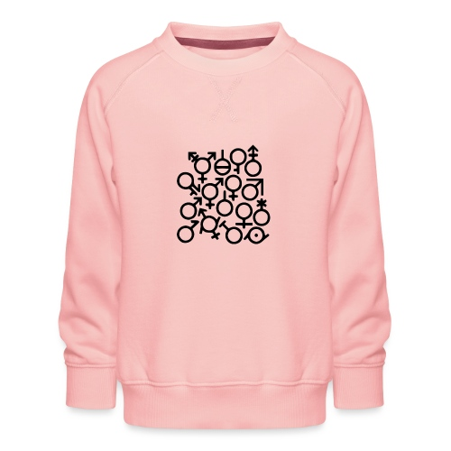 Multi Gender B/W - Kinderen premium sweater