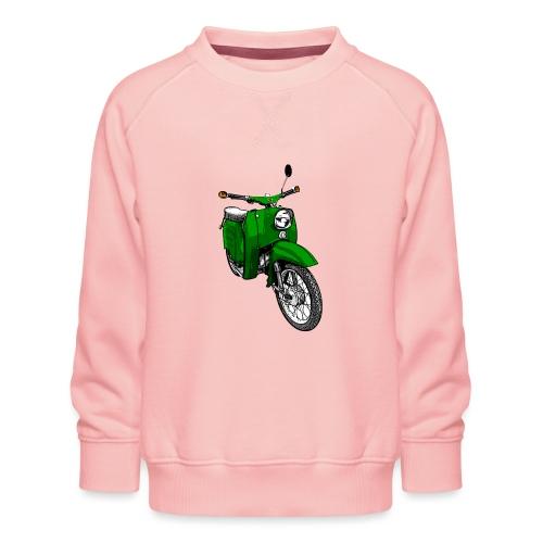 Simson Schwalbe grün - Kinder Premium Pullover