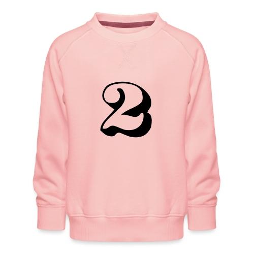 cool number 2 - Kinderen premium sweater