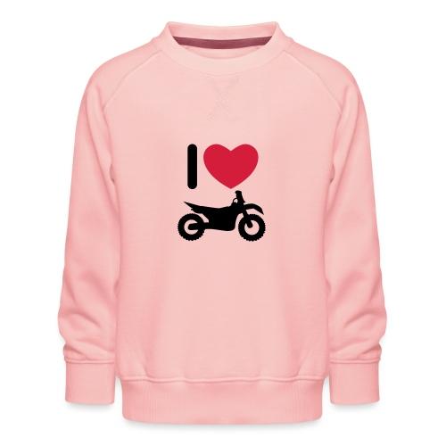 I love biking - Kinder Premium Pullover