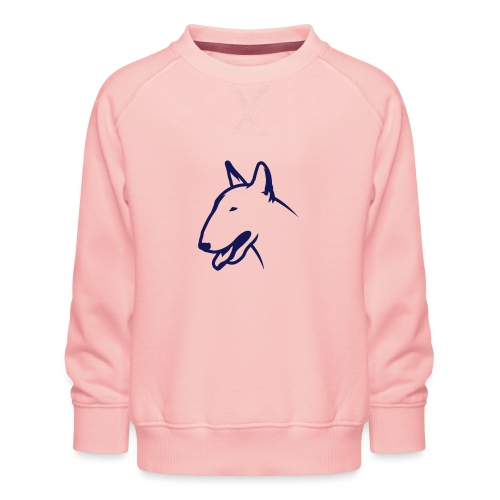 Bullterrier BULLY HEAD 1c_4light - Kinder Premium Pullover