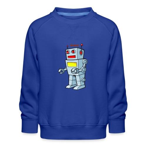Robot - Felpa premium da bambini