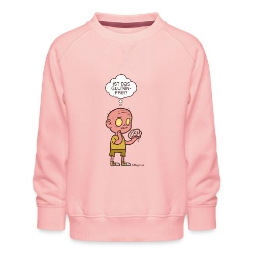 Ernährungsbewusster Zombie - Kinder Premium Pullover