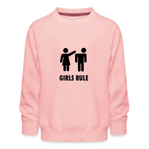 Girl rule - Premium-genser for barn