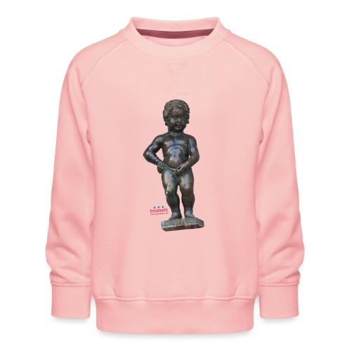BiG REAL mannekenpis ♀♂ | 小便小僧 - Sweat ras-du-cou Premium Enfant