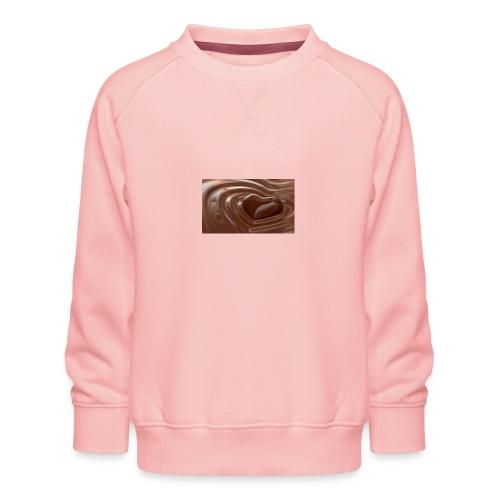 Choklad T-shirt - Premiumtröja barn
