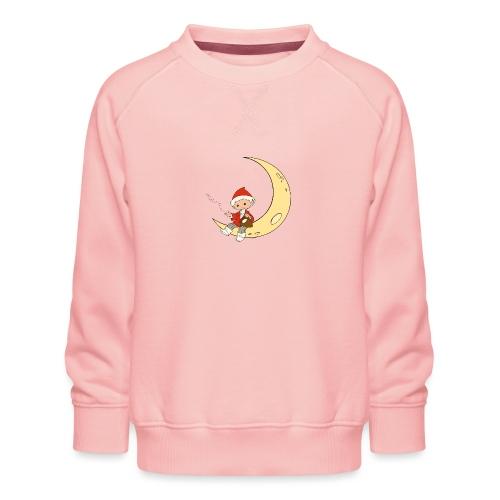 Sandmännchen auf Mond - Kinder Premium Pullover