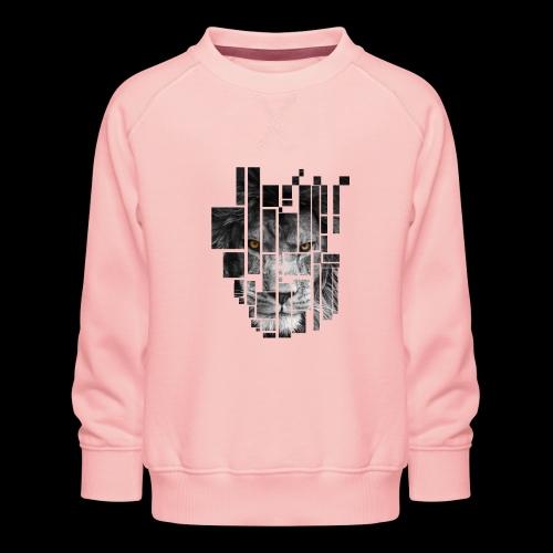 Pixel Lion Tattoo Inspire - Kids' Premium Sweatshirt