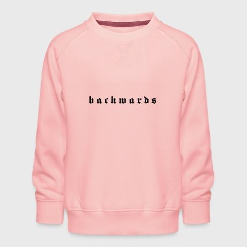 Backwards - Kinderen premium sweater