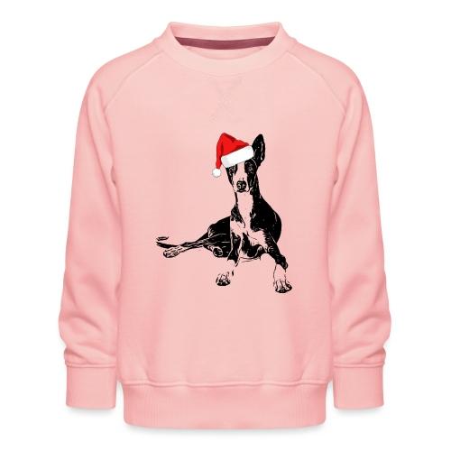 Weihnachten Podenco Hunde Geschenkidee - Kinder Premium Pullover