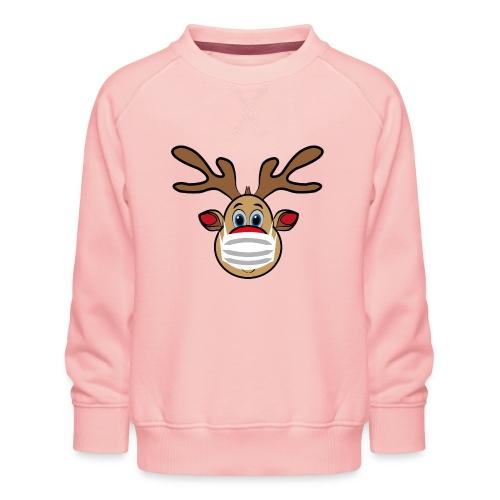 Ugly Xmas Rudi Reindeer mit Maske - Kinder Premium Pullover