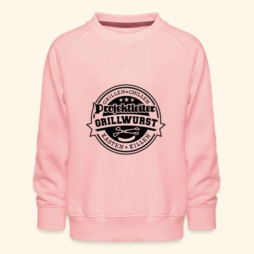 Grill T Shirt Projektleiter Grillwurst - Kinder Premium Pullover