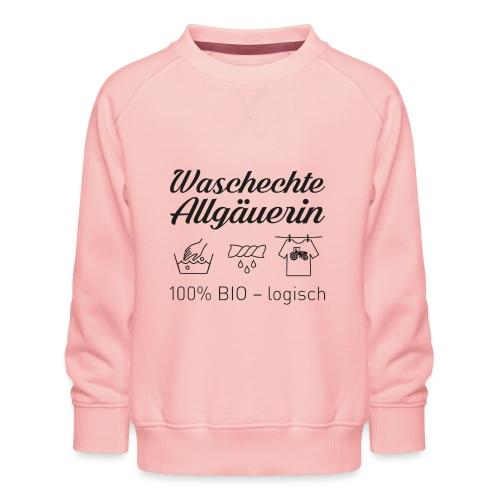 Waschechte Allgäuern - Kinder Premium Pullover